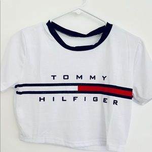 a373fffe7 Tommy Hilfiger Tops - Tommy Hilfiger crop top